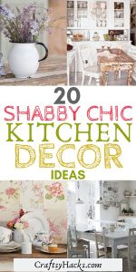 20 shabby chic kitchen decor ideas