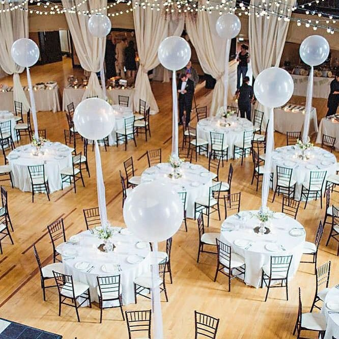 Chic Balloon Centerpiece