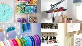 25 Craft Room Organization Ideas