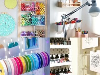 25 Craft Room Organization Ideas
