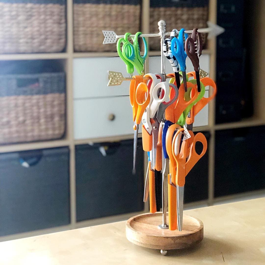 Necklace Holder to Store Supplies