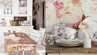 shabby chic kitchen decor ideas