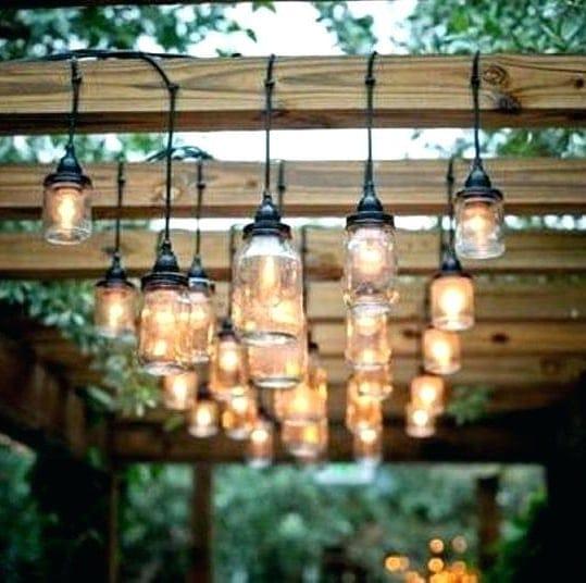 Mason Jar Festoon Lights