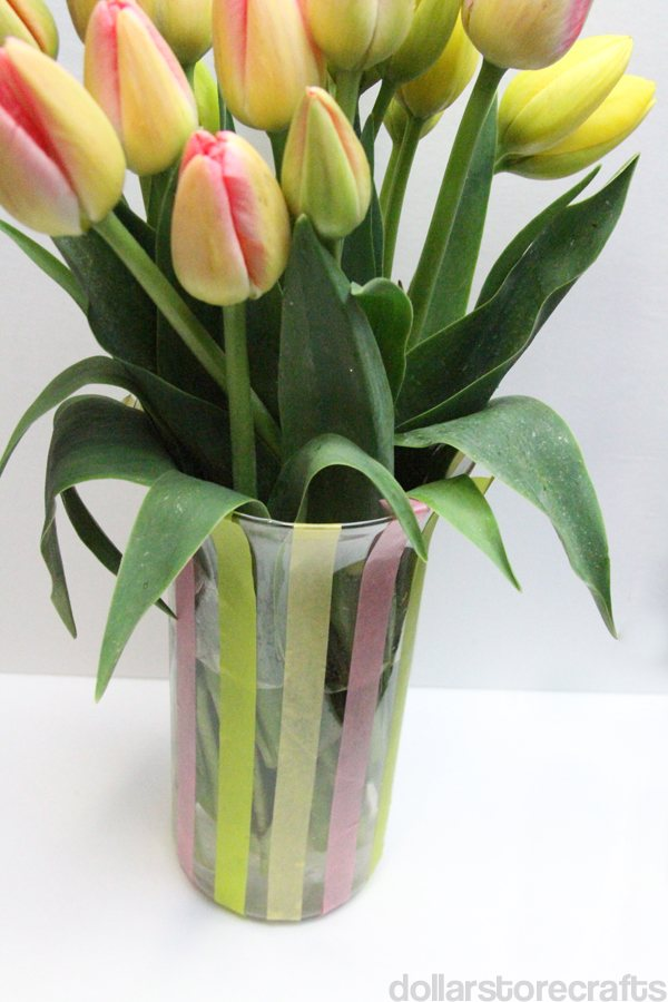 Colorful Tulip Vase
