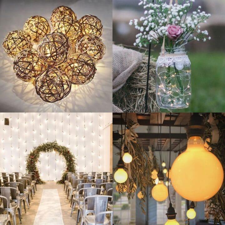 20 Unique Wedding Lighting Ideas