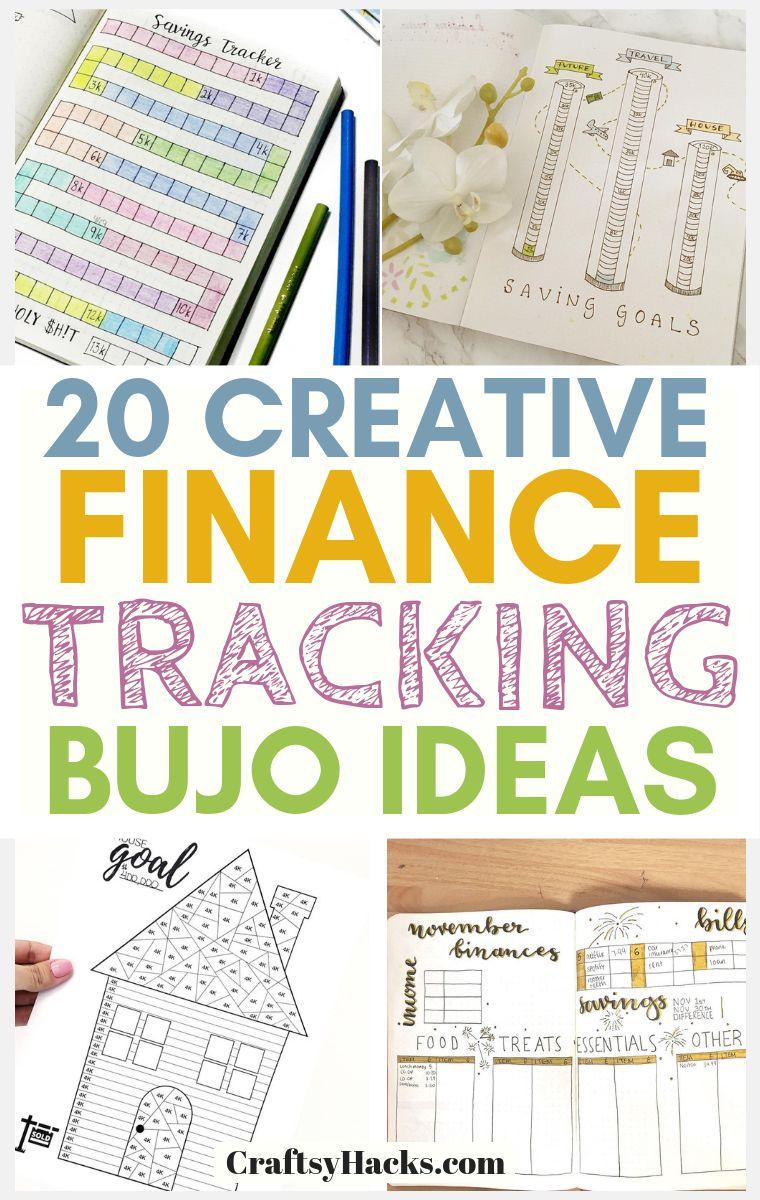 Creative Finance Tracking Bullet Journal Ideas