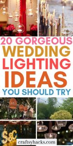 20 gorgeous wedding lighting ideas you should try
