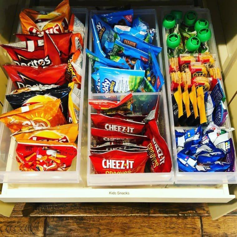 Plastic Storage Organizer Bins