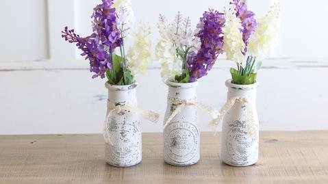 Vintage-inspired Flower Vase