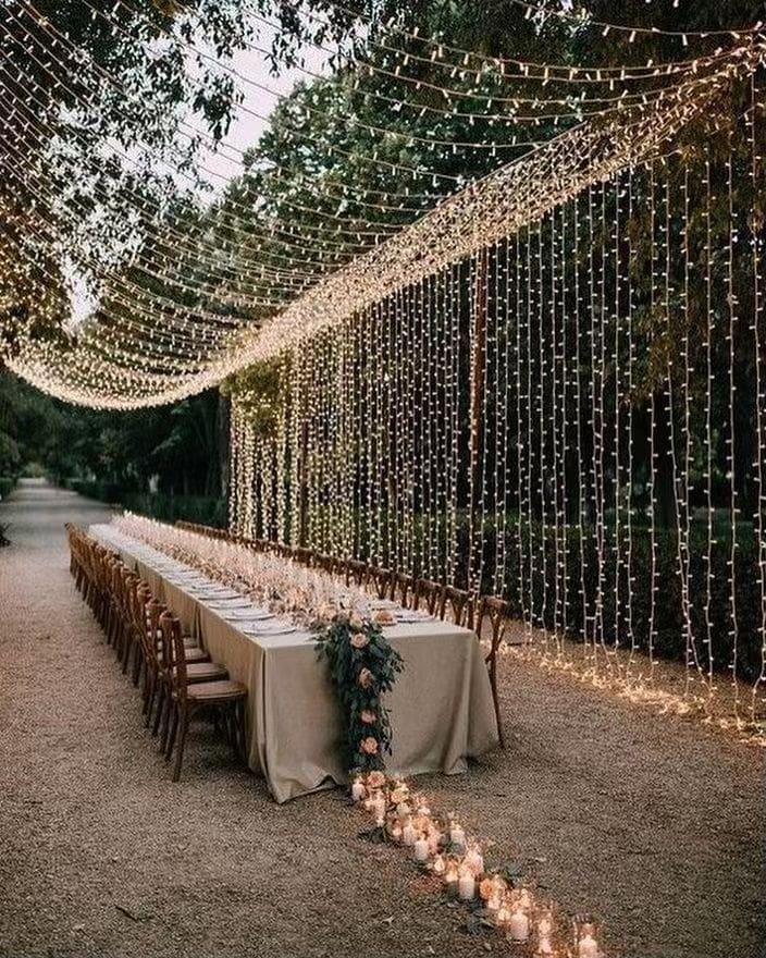 Cascading Fairy Lights