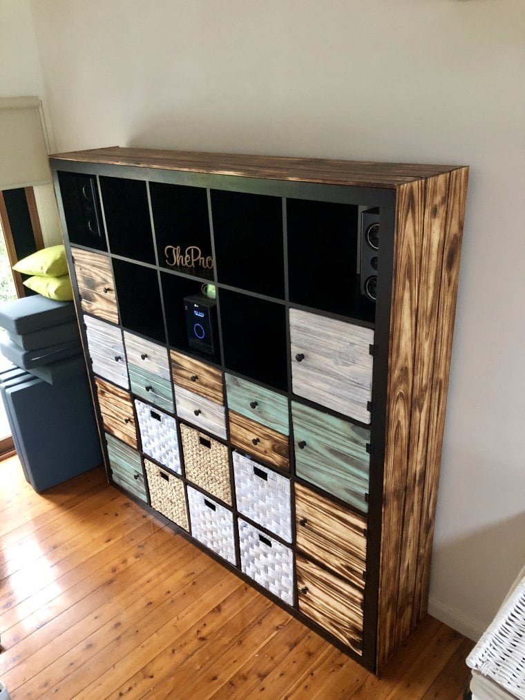 Retro Chic Storage Unit