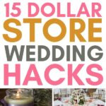 dollar store wedding hacks