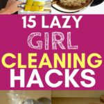 lazy girl cleaning tips