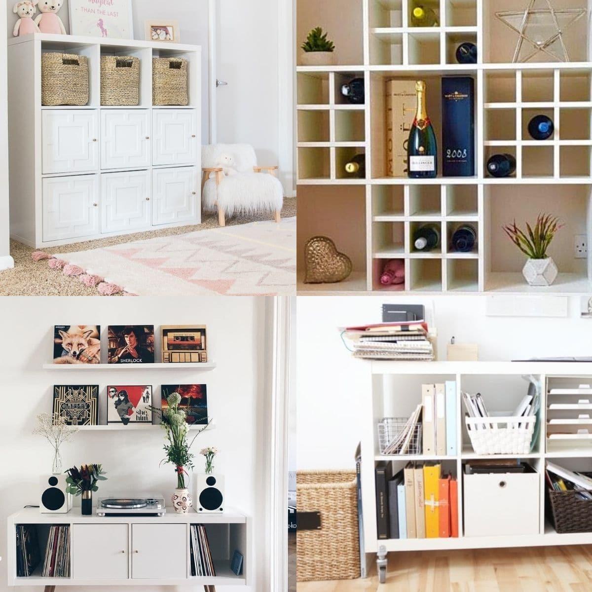 20 Ikea Kallax Hacks Your Home Needs Craftsy Hacks