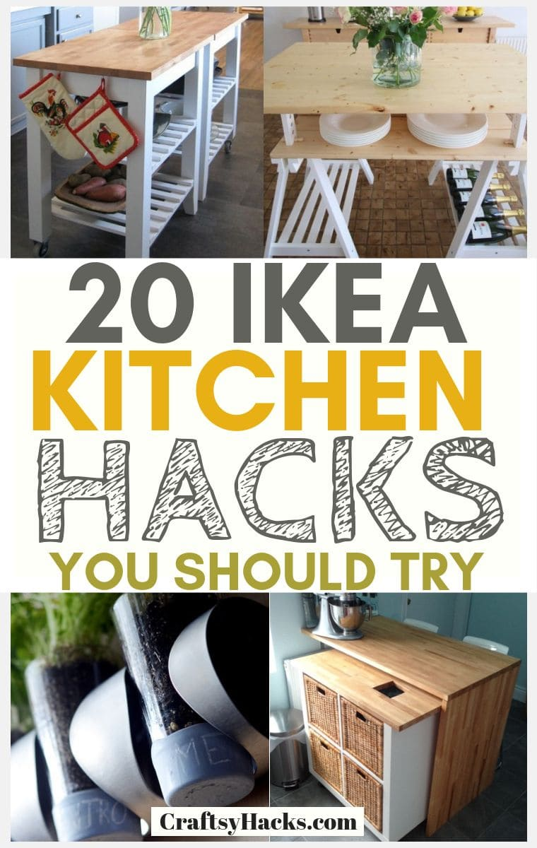 ikea kitchen hacks for home