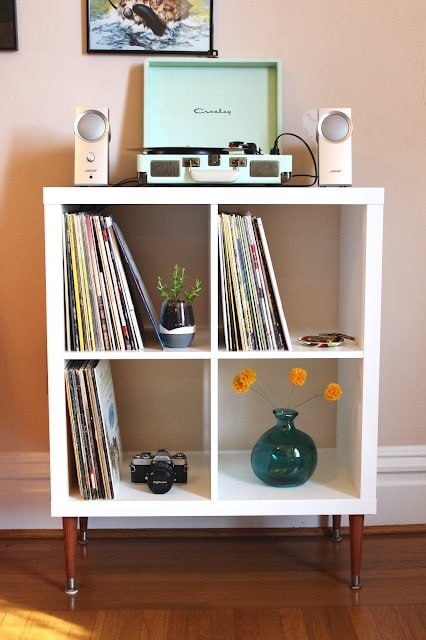 Vinyl Record Shelf