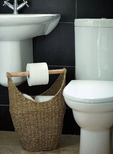 Basket for Toilet Rolls