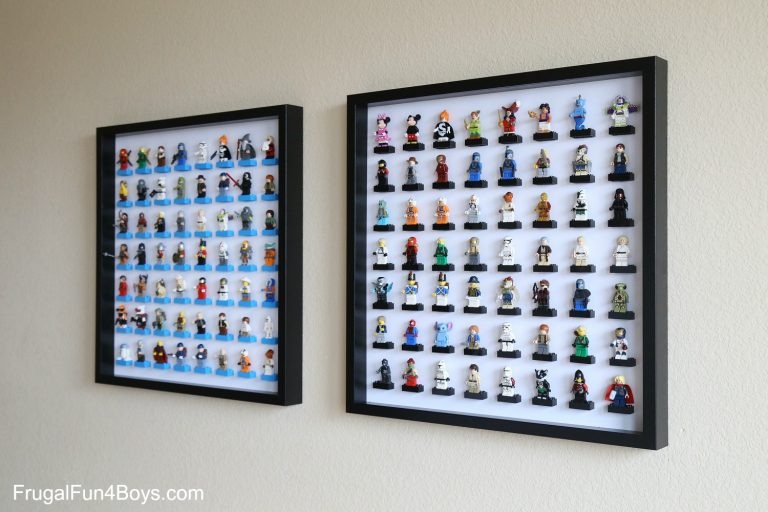 IKEA Frame to Display Toys