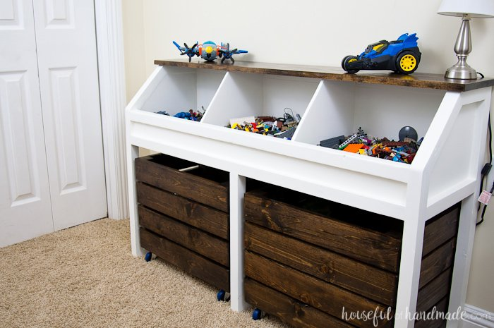 Rustic Storage Unit for Toys