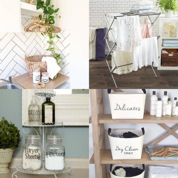 25 Simple Laundry Room Storage Ideas