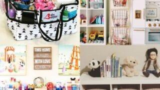 25 Ways to Organize Children Toys