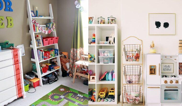 organize children toys