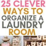 ways to organize laundry room