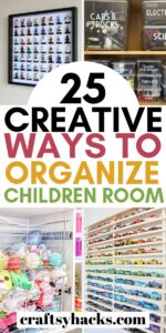 children room organization