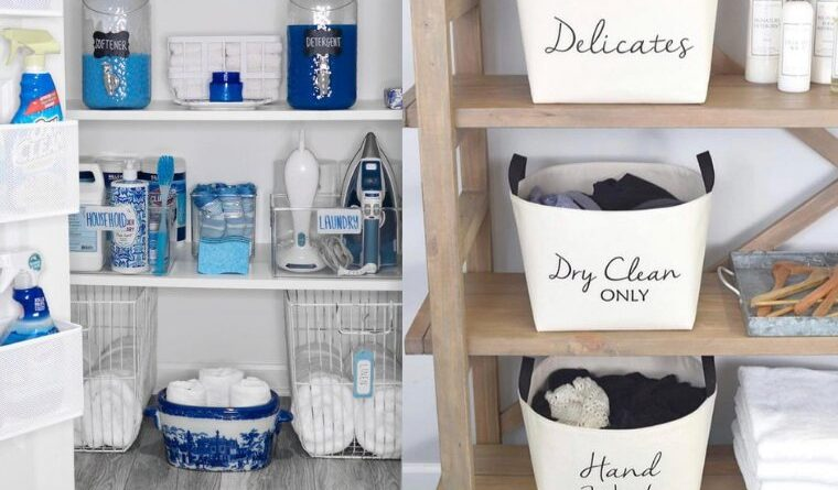 laundry room organizing tips