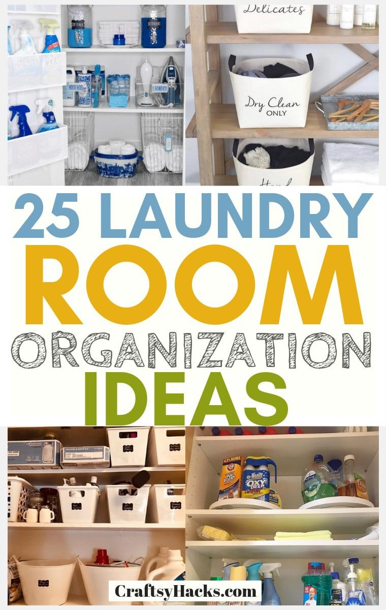organizing tips for laundry room