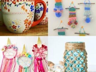 40 Super Cute DIY Crafts for Teen Girls