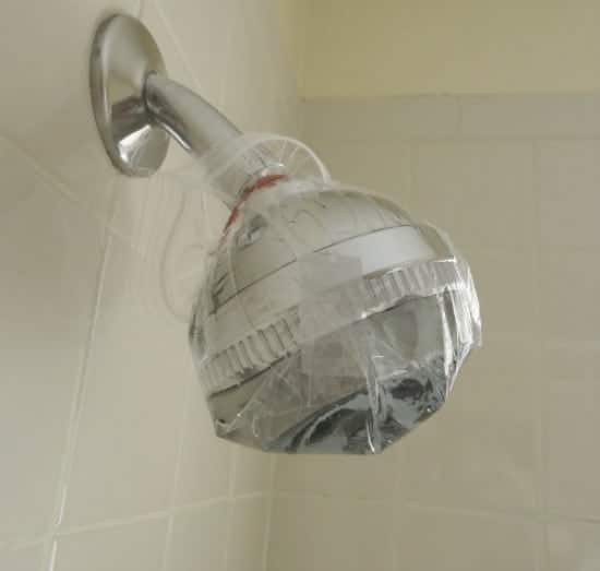 clean showerhead
