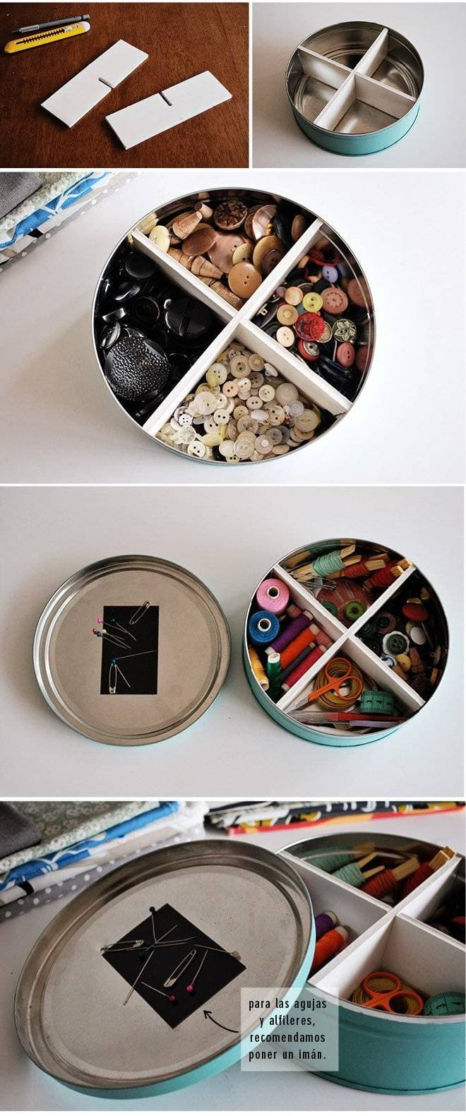 DIY Magnetic Storage Container