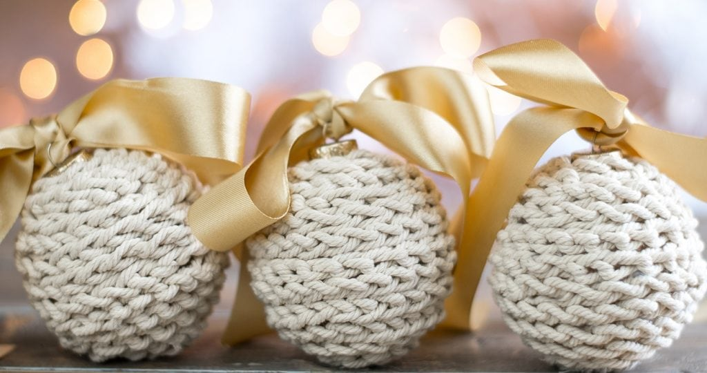 Rustic Crochet Ornaments