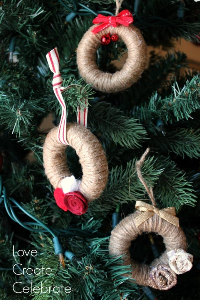 Miniature Twine Wreath