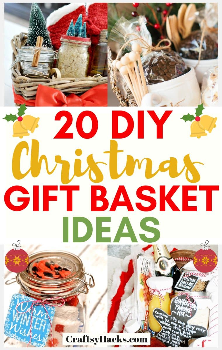 20 Diy Christmas Gift Baskets For Your Loved Ones Craftsy Hacks