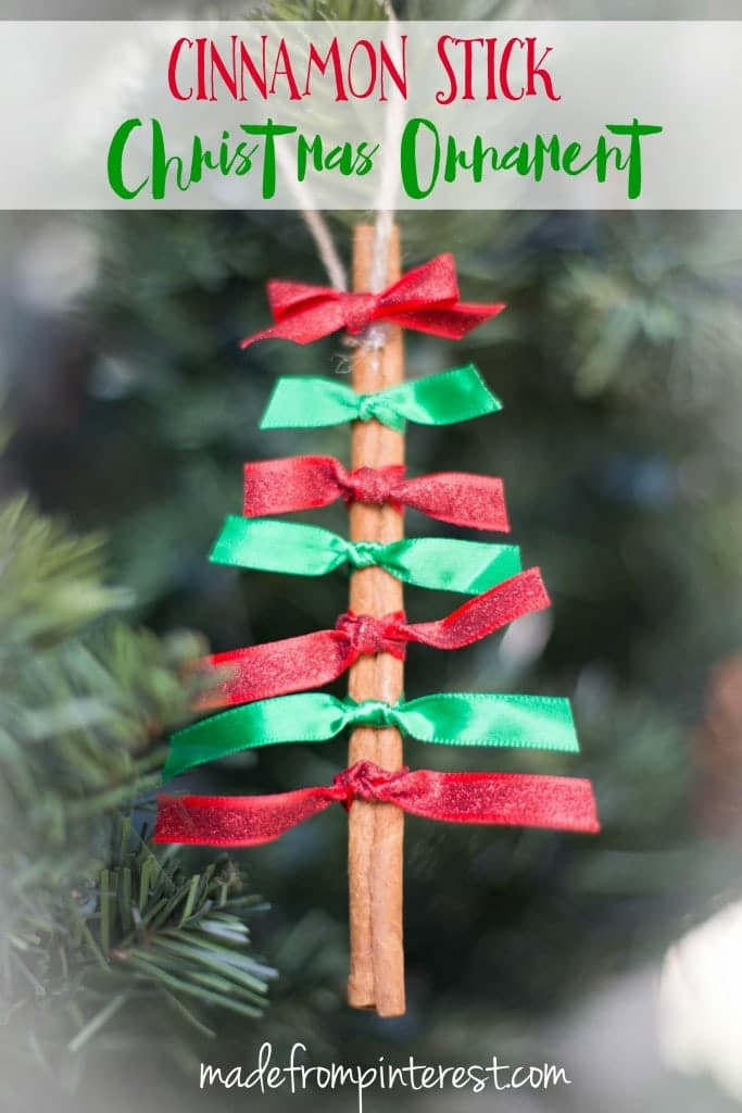 Cinnamon Stick Christmas Trees