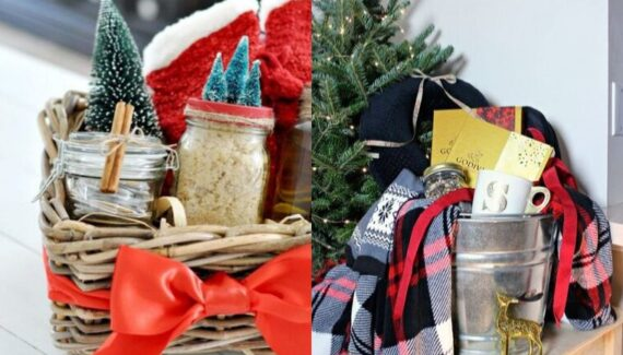 diy christmas basket