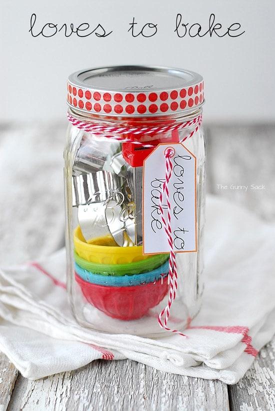 baking gift mason jar