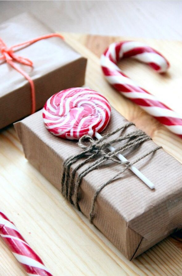 peppermint wrapping idea