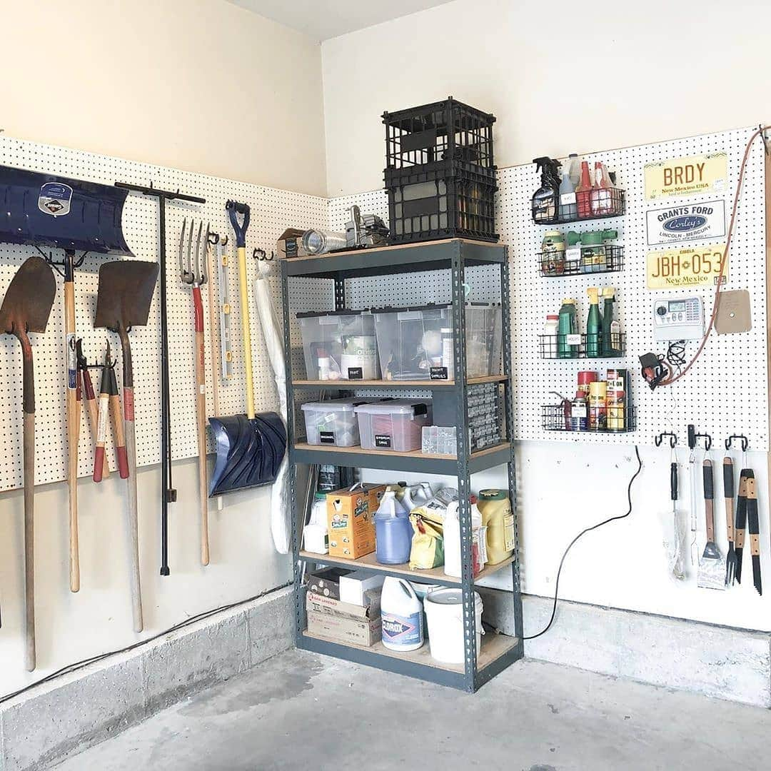 Easy-to-Install Metal Shelf Units