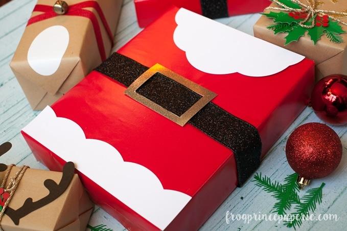 DIY santa package