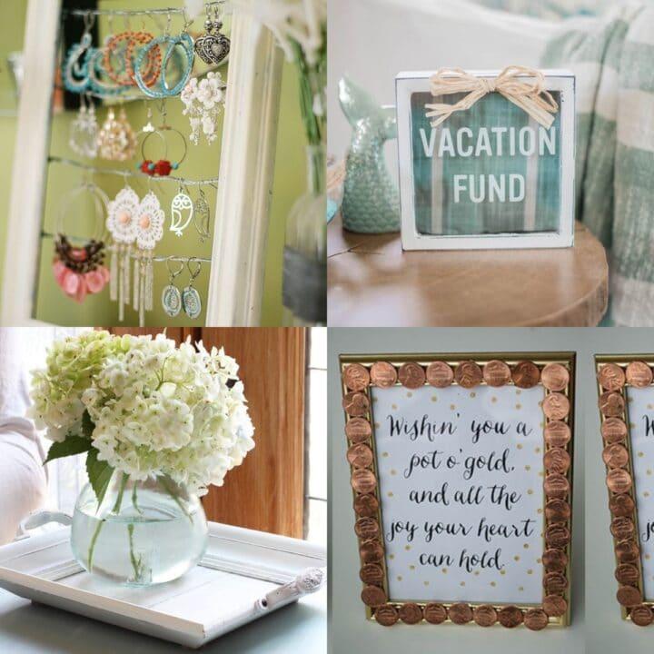 15 DIY Dollar Store Frame Craft Ideas