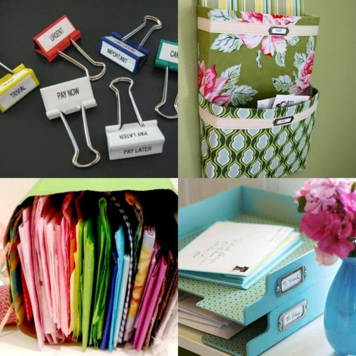 15 Ways to Organize Paper Clutter
