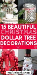 dollar tree decorations for christmas