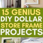 diy dollar store frame crafts