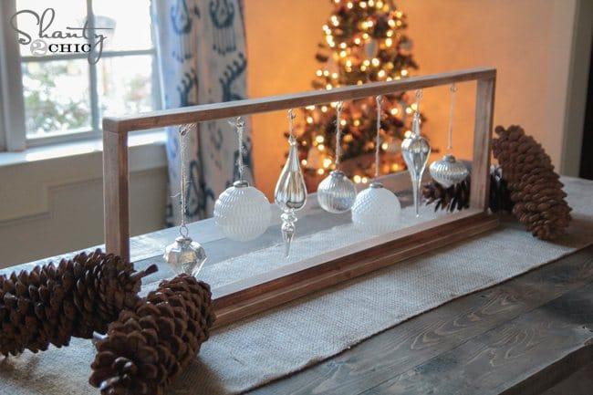 hanging ornament display