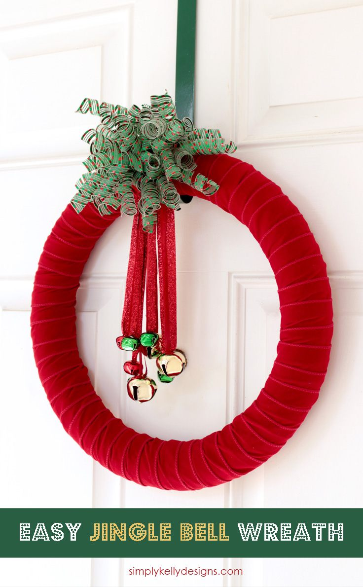 diy jingle bell wreath