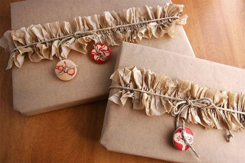 tissue paper ruffles