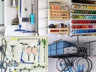 20 Brilliant Garage Organizing Ideas
